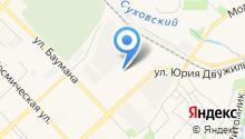 Автоцентр ДЮК и К на карте