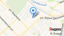 Тонировочная мастерская на карте