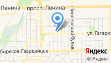 Сибирская финансовая компания на карте