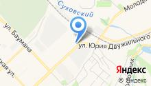 Мицубиши центр Кемерово на карте