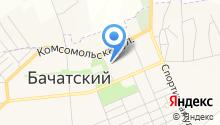 Территориальное управление п.г.т. Бачатский Администрации г. Белово на карте