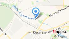 Ecolayer на карте