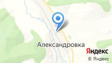 Александровский фельдшерско-акушерский пункт на карте