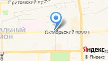 I-KEDR на карте