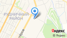 Серебряный бор на карте