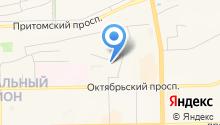 Автомагазин-склад на карте