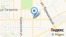 SAMM на карте