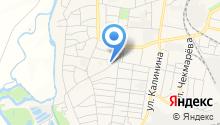 Метакон на карте