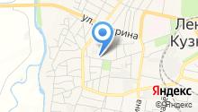 Мировые судьи г. Ленинск-Кузнецкого на карте
