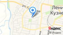 7 отряд ФПС по Кемеровской области на карте