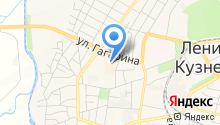 Автостанция на карте