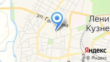 Кафе на ул. Орджоникидзе на карте