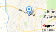 Зооцентр на карте