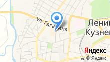На Губернском на карте