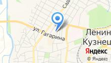 Ленинск-Кузнецкий кожно-венерологический диспансер на карте