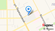 Кузнецкий терминал на карте