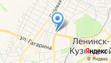 ФГКУ Управление вневедомственной охраны войск национальной гвардии РФ по Кемеровоской области на карте