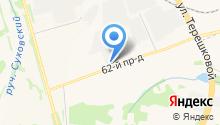 Автофорсаж на карте