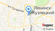 Ленинск-Кузнецкий межмуниципальный отдел МВД России на карте