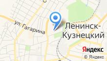 Кемеровское областное клиническое бюро судебно-медицинской экспертизы на карте