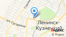 АДК на карте
