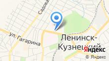 Костромовская на карте