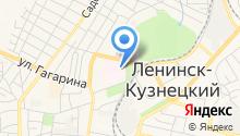 Томский государственный архитектурно-строительный университет на карте