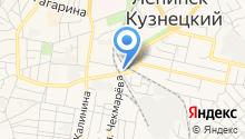 Погрузочно-транспортное управление на карте
