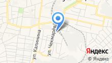 Сауна на ул. Чекмарёва на карте