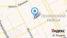 1 отряд ФПС по Кемеровской области на карте