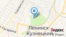 Парк культуры на карте