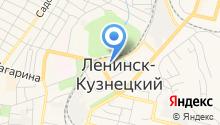 Ленинск-Кузнецкая типография на карте