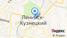 Ленинск-Кузнецкий горнотехнический техникум на карте