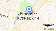 УВД г. Ленинск-Кузнецкого на карте