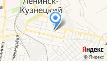 Автостоянка на проспекте Дзержинского на карте