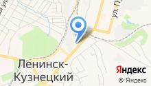 Ленинск-Кузнецкий хлебокомбинат на карте