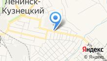 Сеть магазинов товаров для КАМАЗ на карте