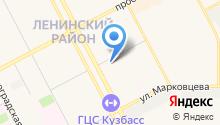 УК Ленинградский на карте