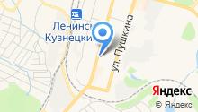 Штрихкод-Сервис на карте