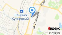 Ленинск-Кузнецкое училище олимпийского резерва на карте