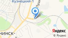 Радио ВАНЯ, FM 102.1 на карте