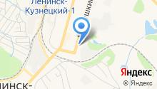 Ленинск на карте