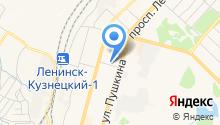 Национальная почтовая служба на карте