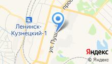 1МТ на карте