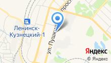 Горпроект г. Ленинск-Кузнецкого на карте