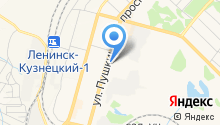Горпроект г. Ленинск-Кузнецкого, МП на карте