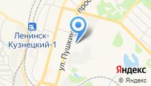 Отдел профдезинфекции на карте