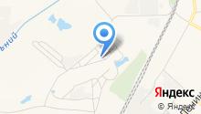 Продуктовый магазин на ул. Строительный поселок на карте