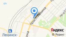 Центр социального обслуживания граждан пожилого возраста и инвалидов Ленинск-Кузнецкого муниципального района на карте