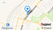 Центр социального обслуживания граждан пожилого возраста и инвалидов Ленинск-Кузнецкого муниципального района, МКУ на карте